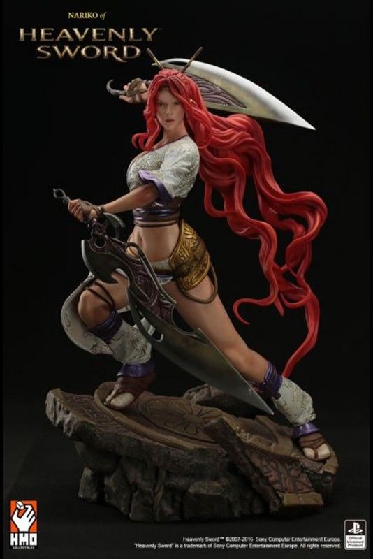 Capturing the primary protagonist of Heavenly Sword and the wielder of the weapon of the same name, HMO Collectibles brought us HEAVENLY SWORD - NARIKO