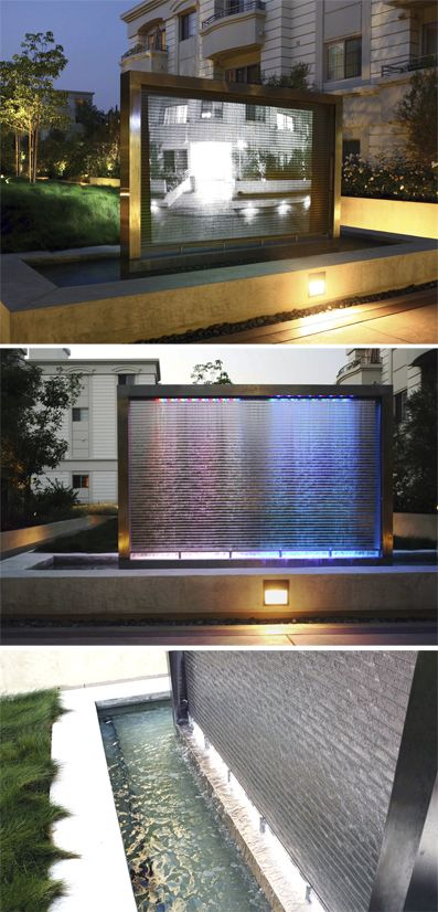 In Studio City, Los Angeles, Banker Wire mesh doubles as a projection screen.