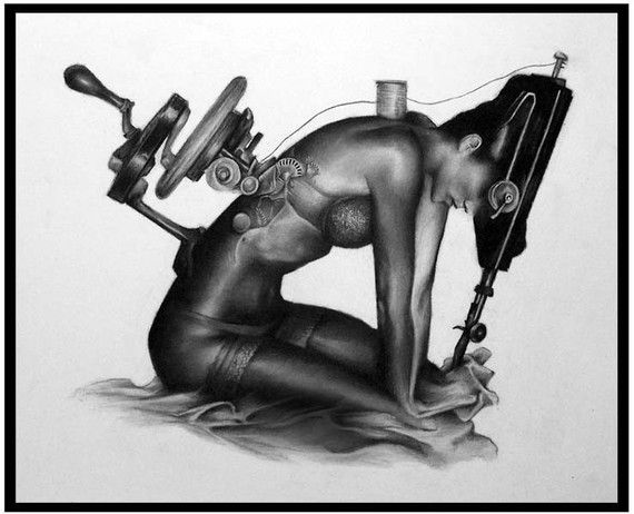The Sewing Machine: Sewing Machines, Etsy, Art Inspiration, Jeffrey Richter, Fine Art, Artsy Fartsy, Tattoo