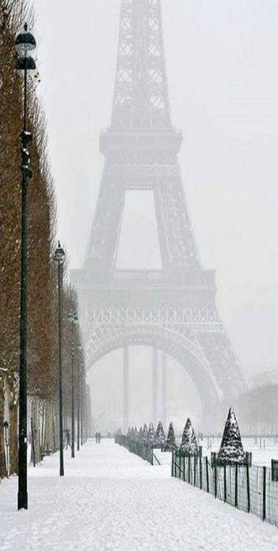 Winter in Paris - Paris - Eiffel Tower - France - Paris, France - PARIS is always a good IDEA!!!