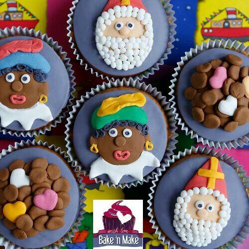 Sinterklaas cuppies