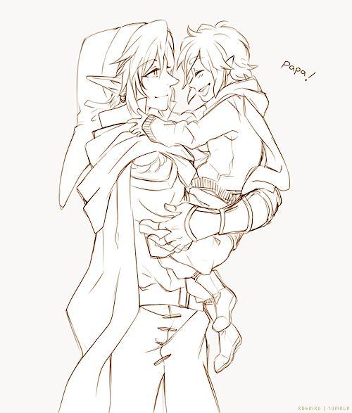 Awww... Link's son!