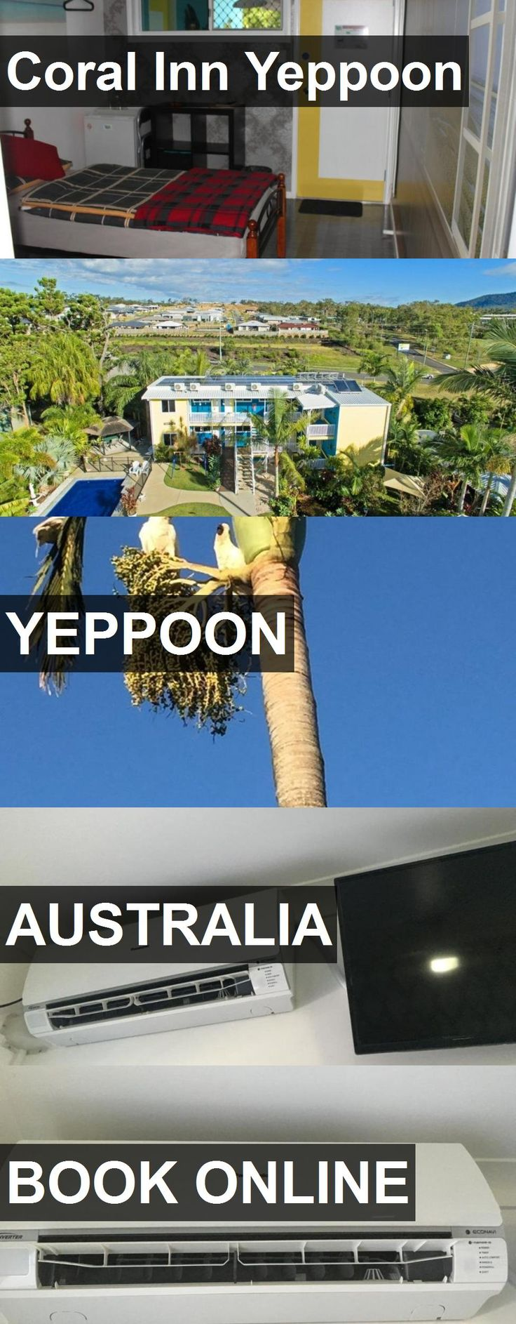 Hotel Coral Inn Yeppoon in Yeppoon, Australia. For more information, photos, reviews and best prices please follow the link. #Australia #Yeppoon #travel #vacation #hotel