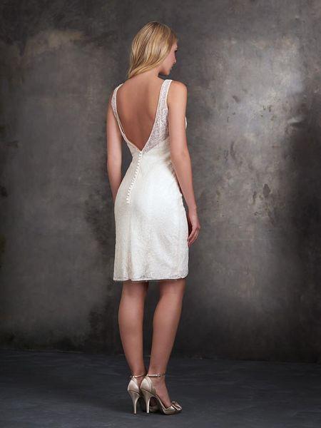 Vestidos de novia cortos: diseños que te enamorarán. ¡Elige el tuyo! Image: 27