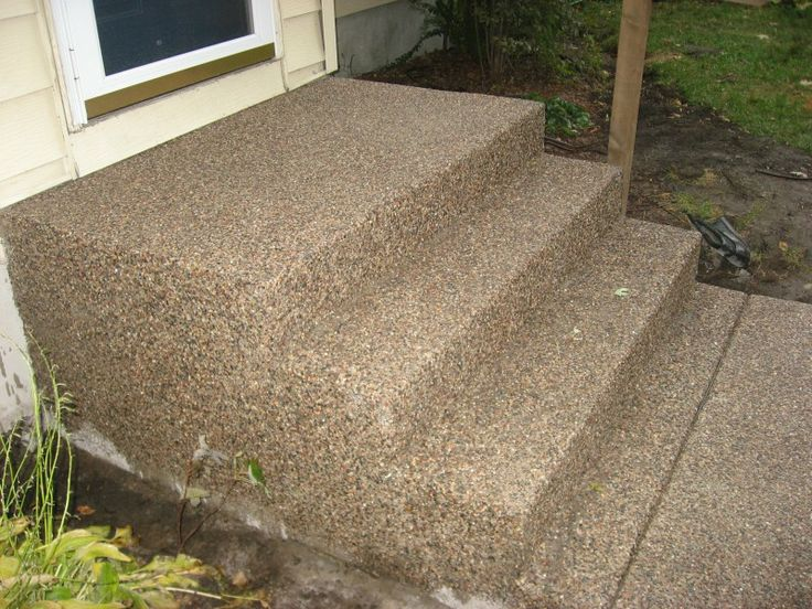 Prefab Outdoor Steps on Pinterest | Concrete Steps, Trailers and ...