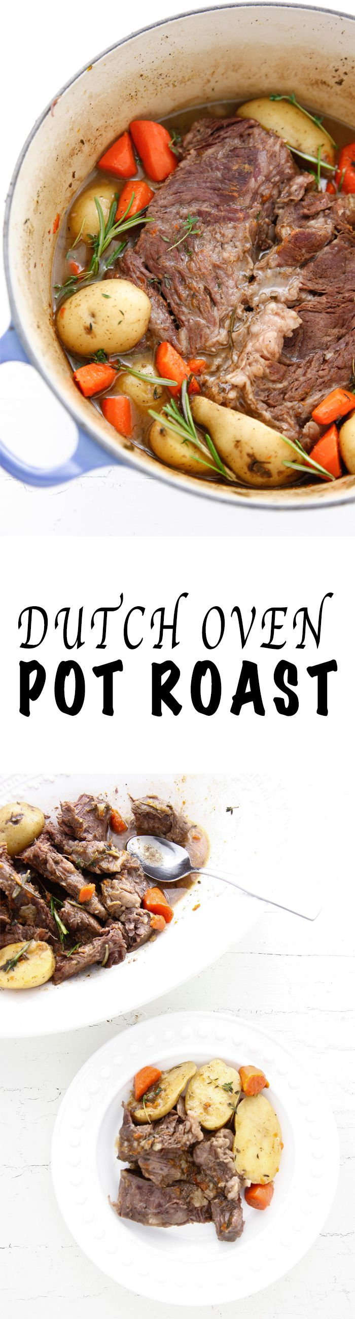 Make an easy dinner with my Dutch Oven Pot Roast recipe! via @thebrooklyncook