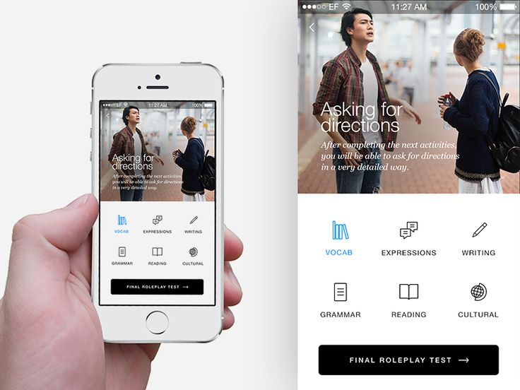 Cultural & Language Lessons Mobile App   UI Design