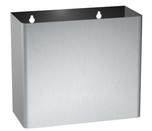 RB645 Stainless Steel Wall Mount 45L Capacity Waste Bin