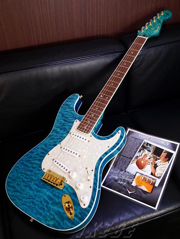 fender custom shop mbs qmt stratocaster nos ash back 3a birds eye maple neck obl master built. Black Bedroom Furniture Sets. Home Design Ideas