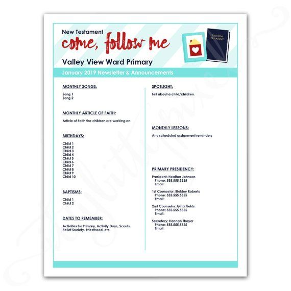 d825442f6d1723a1a9264bbf4b96b6eb  Primary Newsletter Templates Pdf on create your own printable, hr employee, lds relief society, chino california, cover design, february responsive classroom, safety box winter,