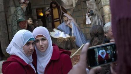Di Betlehem, Muslim dan Kristiani Puasa Bersama
