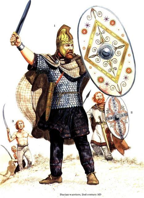 Dacian warriors
