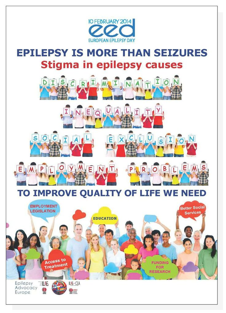 European #Epilepsy Day 2014 – Epilepsy is More Than #Seizures – Stigma causes discrimination, inequality, social exclusion, and employment problems