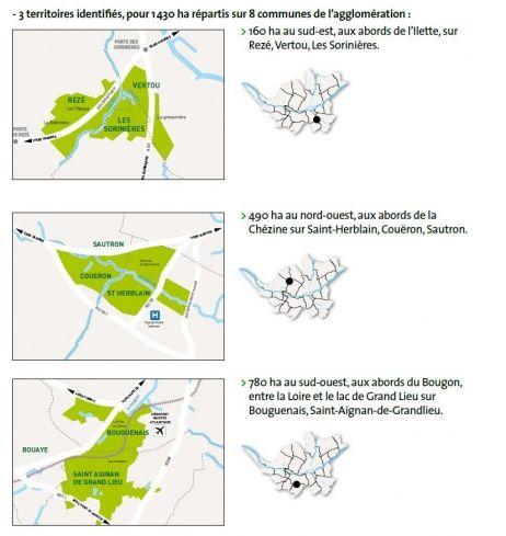 Nantes métropole met la pédale douce sur son projet de forêts urbaines : aujourd'hui, 8 ans après, alors que Nantes a obtenu le titre de Capitale verte de l'Europe en 2013, seuls 40% des terrains sont effectivement boisés.