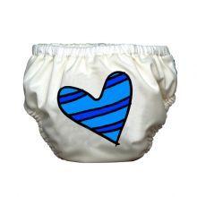 Μαγιό+πάνα+'Heart+on+white'
