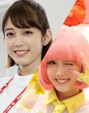 仮野明日那 / ポッピーピポパポ:松田るか   ヒロイン  看護師は仮の姿。正体は仮面ライダーをナビゲートするサポートキャラ  可愛いと話題になってライダーを演じてる俳優さんたちよりも注目されています。