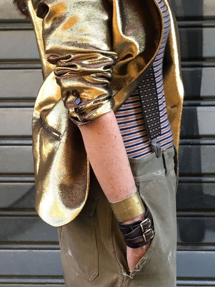 How To Wear a Gold Jacket  #SS16 #WaitAndSeeStyle #DontForgetToPlay
