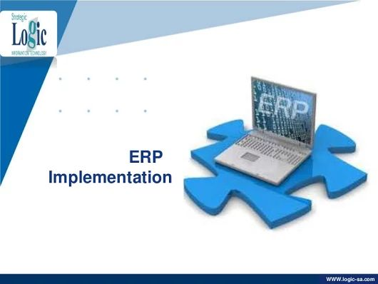 ERP implementation from Strategic Logic IT