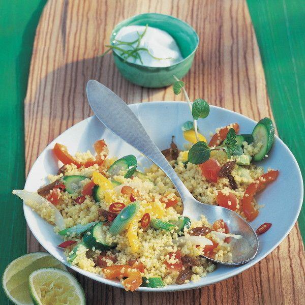 Orientalisches Gemüse-Couscous
