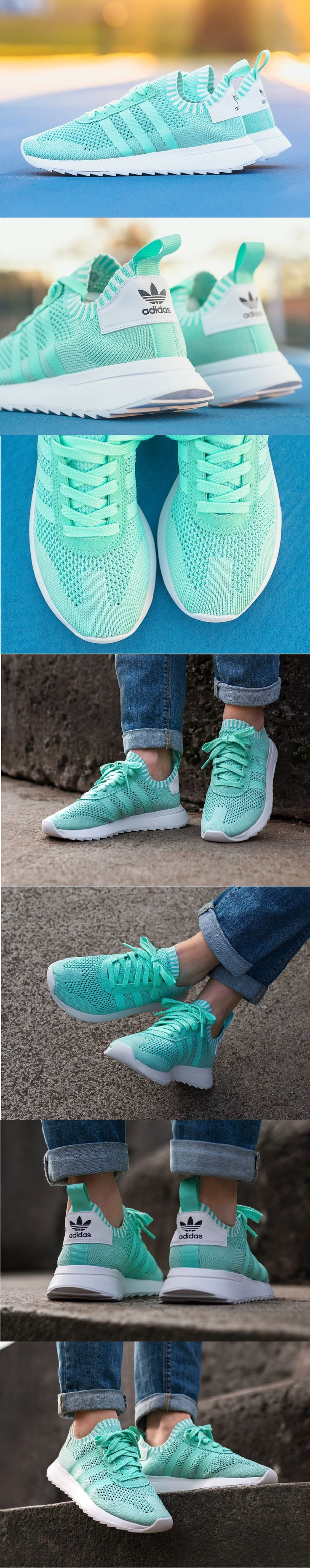 #Adidas #Flashback #Primeknit W #Easy #Green