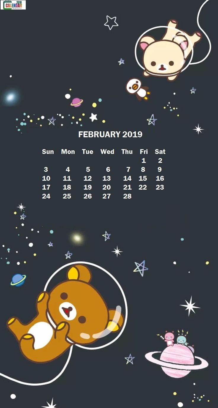 Hello Kitty Fall Iphone Wallpaper February 2019 Maxcalendars In 2019 Calendar Wallpaper
