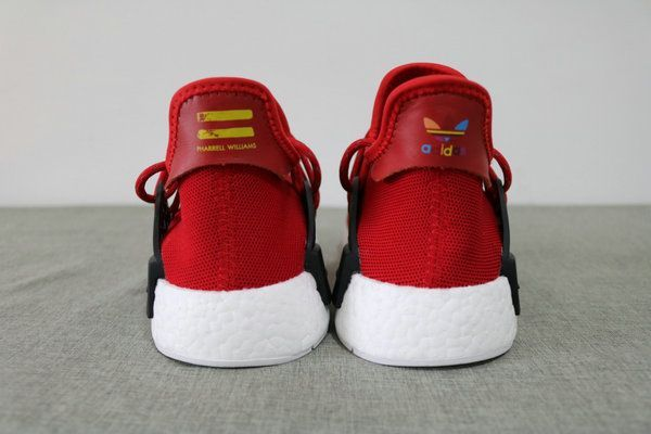 new product 14fc9 308fa Pharrell X adidas NMD Human Race Red [Human Race-6 ...