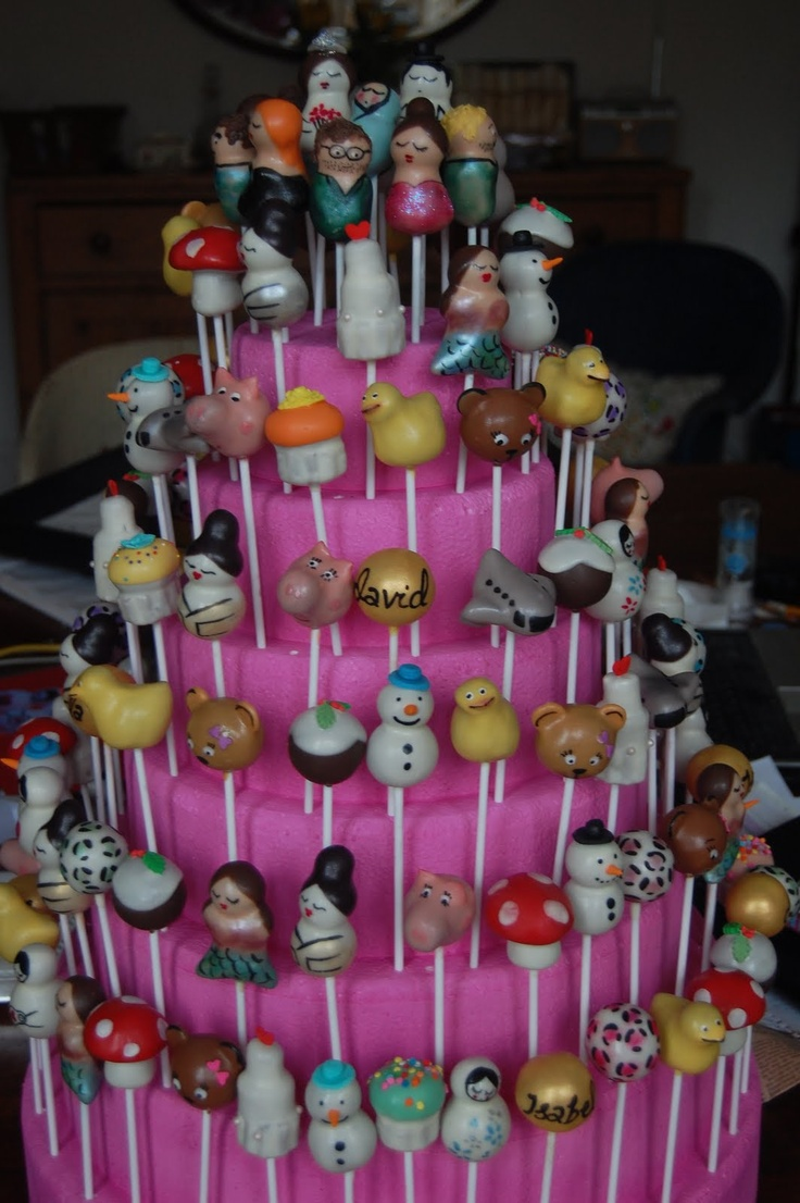 How To Display Cake Pops Without Styrofoam
