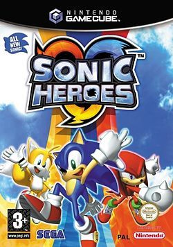 Sonic Heroes XBOXille