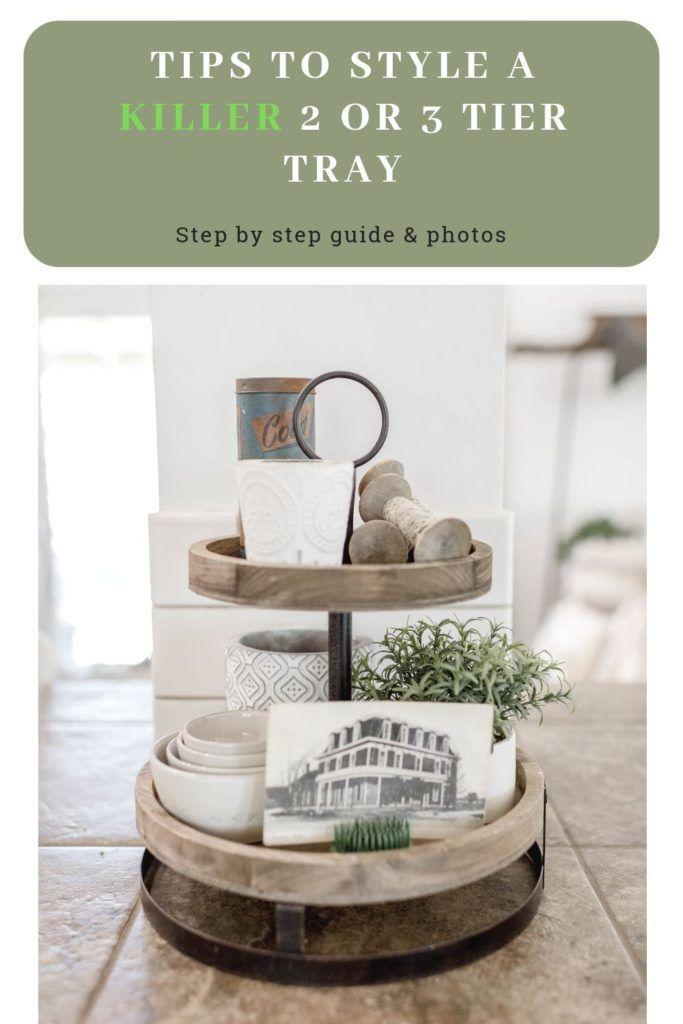 How to Decorate a 3 Tier Tray – Photos – Decor Ideas