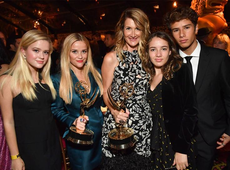 Ava Phillippe, Reese Witherspoon, Laura Dern, Jaya Harper & Ellery Harper: 2017 Emmys: After-Party Pics