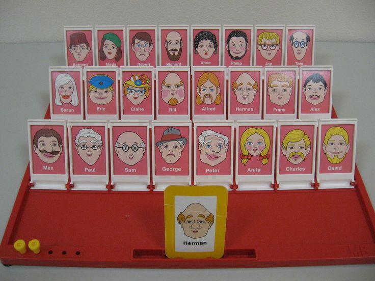 Milton Bradley Guess Who Game