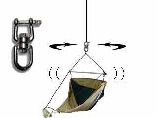 ハンモック吊り金具