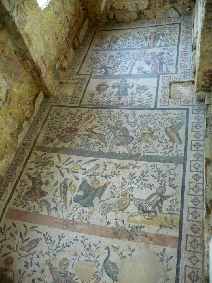 Mosaici Villa Romana Del Casale Piazza Armerina Sicilia