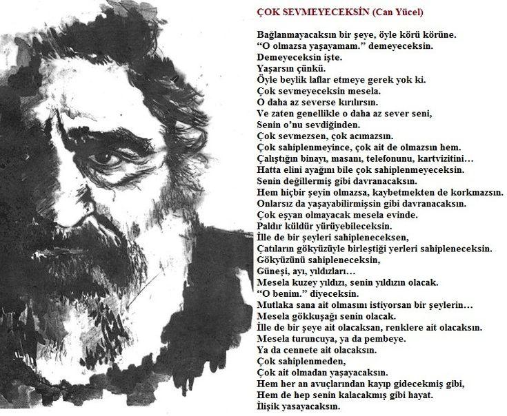Can Yakan Şiirler (Çok Sevmeyeceksin / Can Yücel) - www.kitapyurdu.com