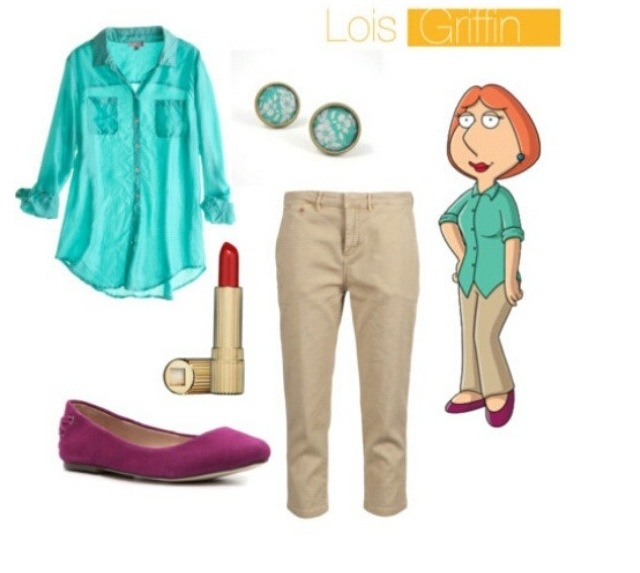 Lois Griffin - Family guy fancy dress costume... Even tho Halloween is a long ways off I have already decided I wanna be Lois Griffin.