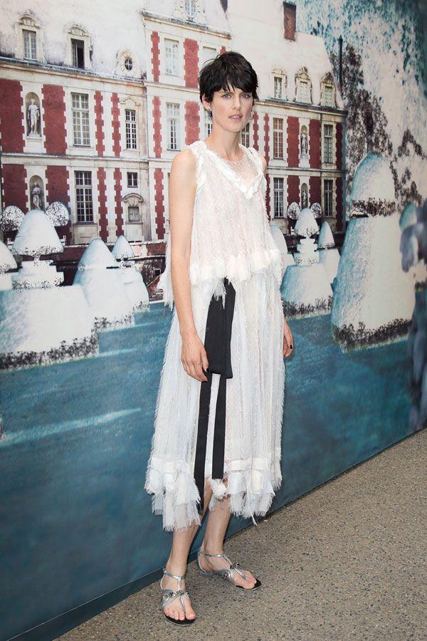 Stella Tennant in Chanel