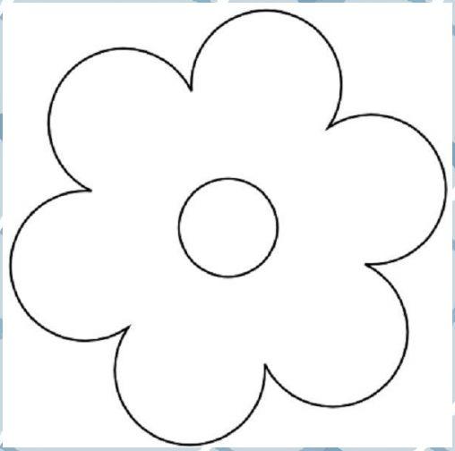 Einfach Blumen Malvorlagen 01 #Blumen #blumen Basteln