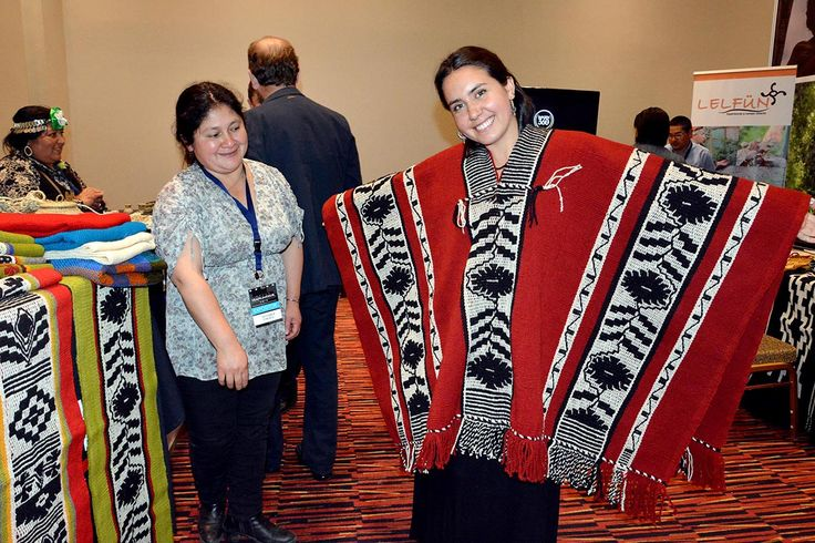 Makuñ, manta mapuche.