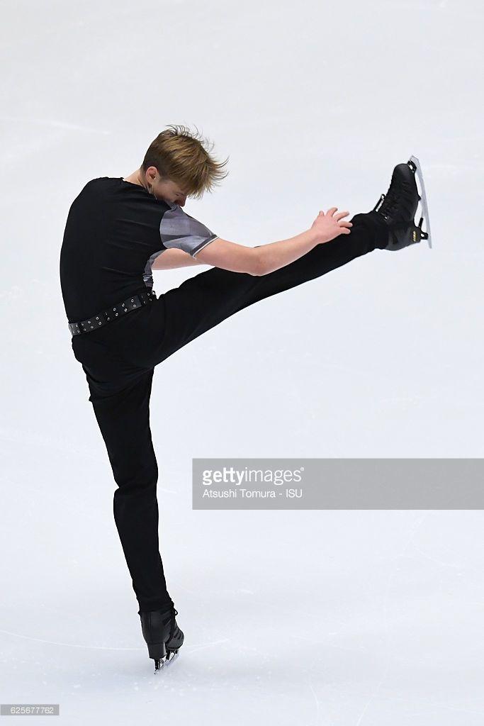News Photo : Deniss Vasiljevs of Latvia competes in the Men...