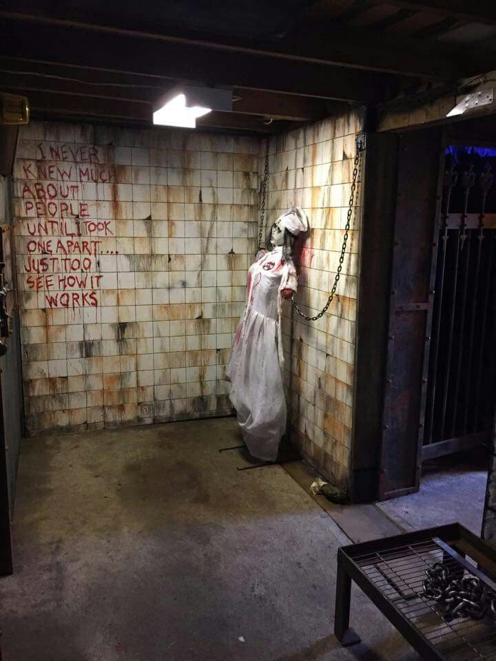 473 best insane asylum hospital haunt ideas images on for Spooky haunted house ideas