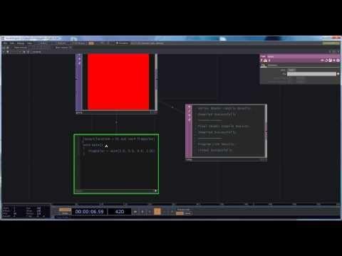GLSL in Touch Designer - Lesson 1