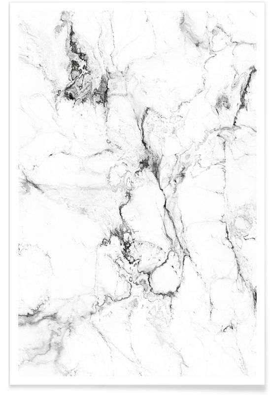 Marmor als Premium Poster door Amy & Kurt   JUNIQE