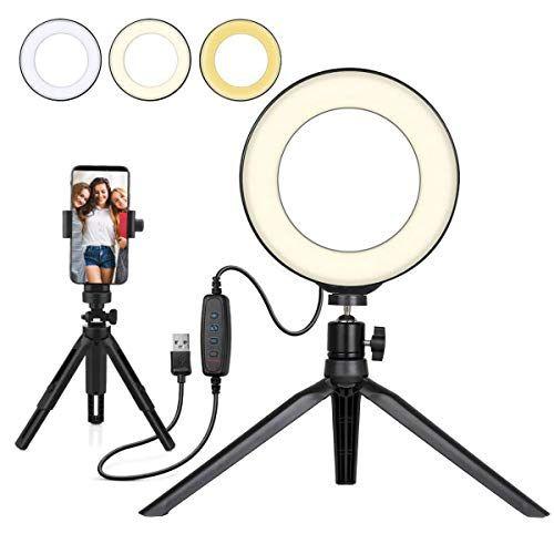 Beauty Led Ringlicht Dimmbar Selfie Light Kit Makeup Fotografie Beleuchtung Mini Kreis Desktop Lampe Licht Mit Ce Led Ring Led Ring Light Ring Light For Makeup