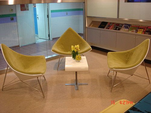 Shangri-La's Far Eastern Plaza Hotel, training center, Upholstered armchair by Favrile #coconutchair