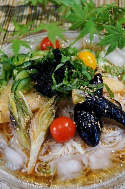 簡単!!絶品!!【トロカレイオーブン焼きと菜園素揚げ野菜ののっけ ...