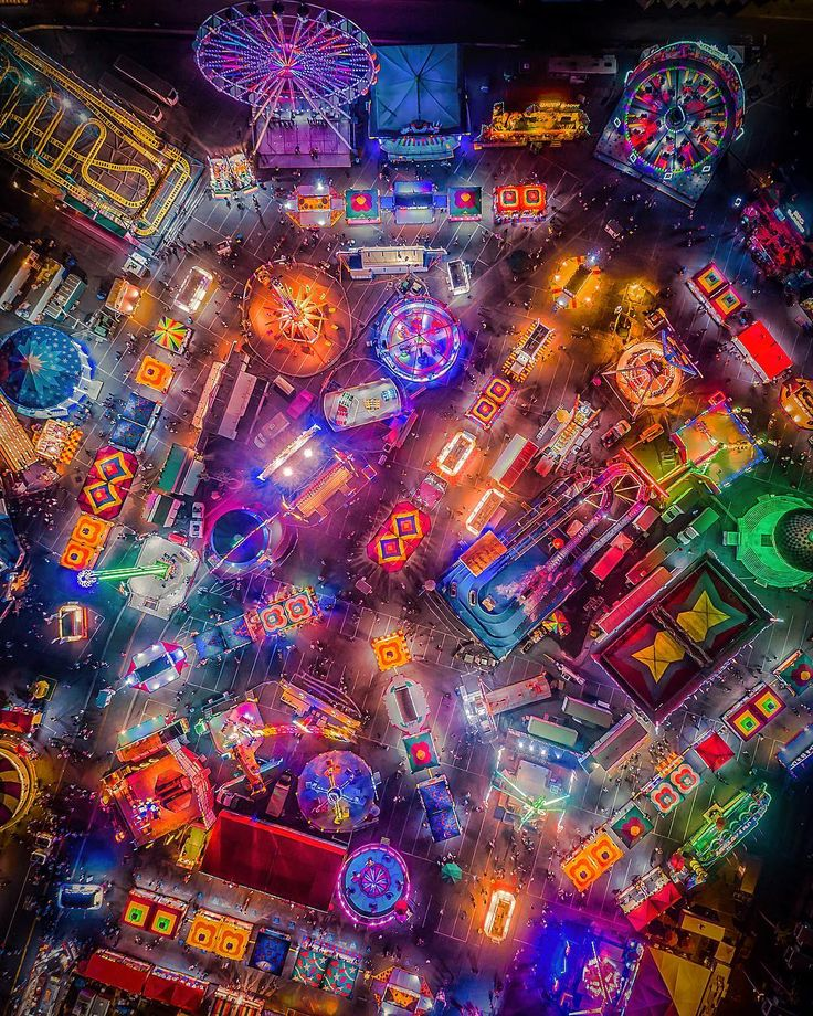 Drone Photography   The fair is in town…… it's like candy land  _________________________________  Featured Artist: @jim.langston (Instagram) _________________________________  if you are a drone pilot then register here and submit images and videos c