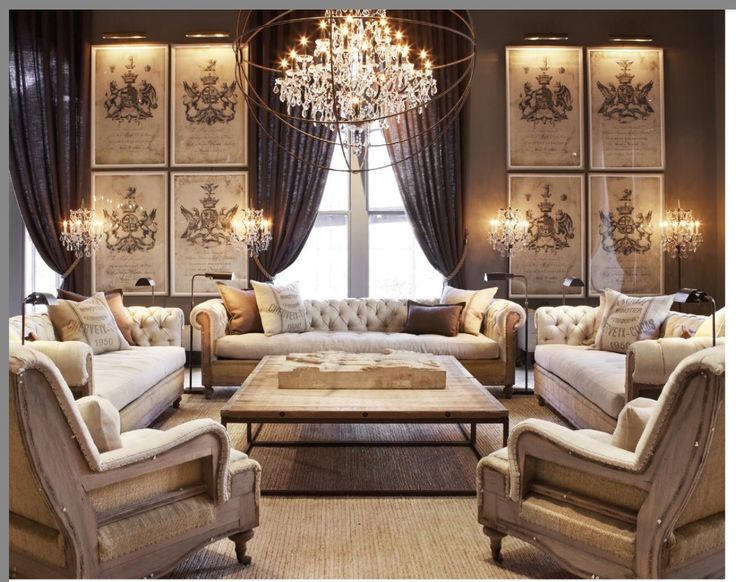 Mesa Restoration Hardware OfficeLiving Room