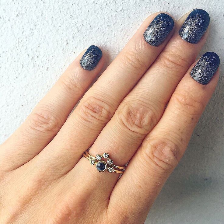 Blue Sapphire & Diamonds Set 💙