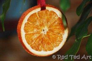 Drying Oranges