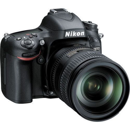 Nikon - D610 Dslr Camera With 28-300mm Vr Lens Kit - Black